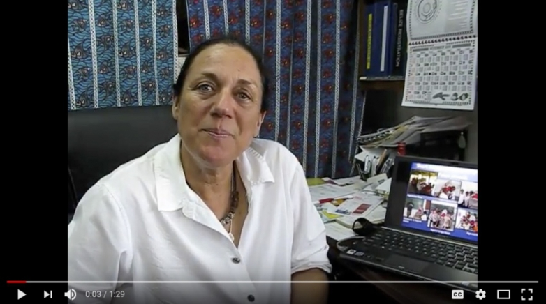 Tova H. Bornovski about Shark Education Project in Palau