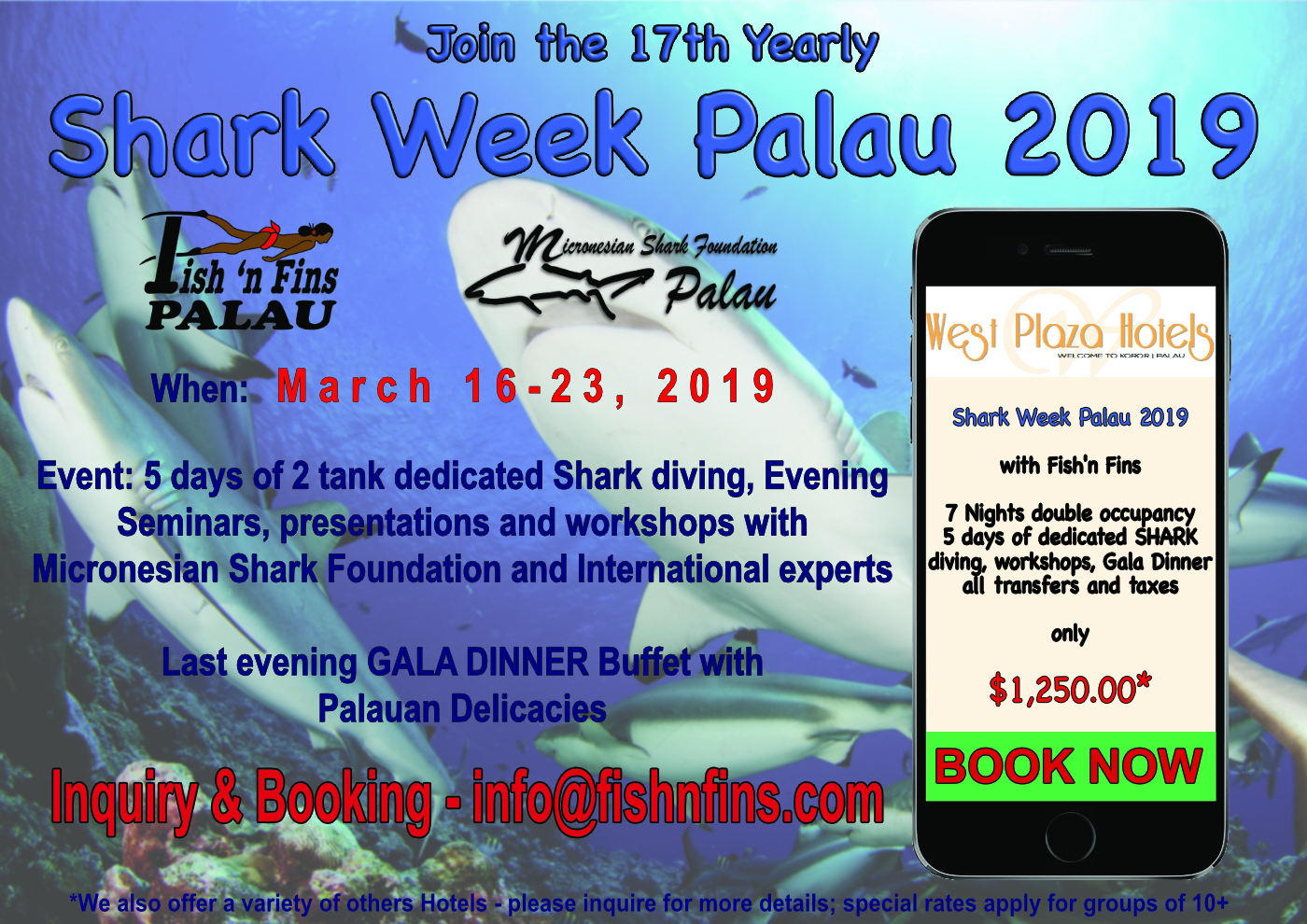 Shark Week Palau 2019